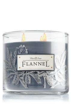 Flannel candle by Bath & Body Works is delicious! - Flannel candle by Bath & Body Works is delicious! Flannel candle by Bath & Body Wor - Bath Candles, Home Candles, 3 Wick Candles, Scented Candles, Candle Jars, Candle Holders, Candle Labels, Diy Candles, Fall Scents