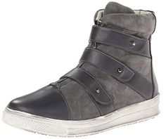 Plomo Women's Libby High Top Fashion Sneaker,Grey,39 BR/8.5 M US >>> You can find out more details at the link of the image.