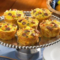 Breakfast Muffin Cups...premaking these this week!