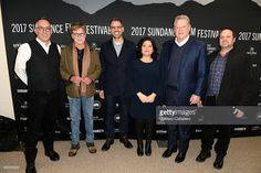 Sundance Film Festival Director John Cooper, Sundance Institute president and founder Robert Redford, former Vice President of the US Al Gore, co-director Bonnie Cohen, co-director/cinematographer Jon Shenk, and founder/chairman Participant Media Jeff Skoll attend the An Inconvenient Sequel: Truth to Power World Premiere Red Carpet at Sundance 2017 at Eccles Center Theatre on January 19, 2017 in Park City, Utah.