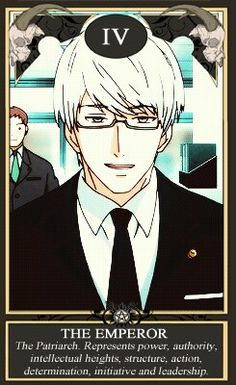 """Tokyo Ghoul, Arima needs """"psychopath"""" or """"manipulative"""" in there to be accurate"""