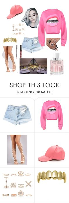 """""""been there done that"""" by isatukamara ❤ liked on Polyvore featuring New Look and Jimmy Choo"""