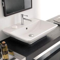 Fantastisch Scarabeo Kylis/R Waschtisch Weiß 370 Euro Original 62 Cm Badezimmer, Hängende  Badezimmer Waschbecken