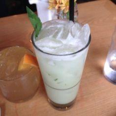 A drink fit for a #Khaleesi @PortlandEmpire #bestcocktailever
