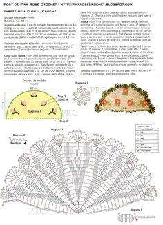 tapete redondo de croche com cristina luriko - Pesquisa Google