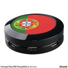 Portugal Flag USB ChargeHub USB Charging Station