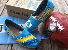 San Diego Chargers TOMS, maybe for Brittney Fidler?