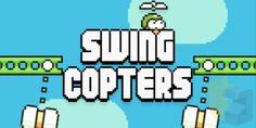 Del creador de Flappy Bird llega el nuevo juego: Swing Copters