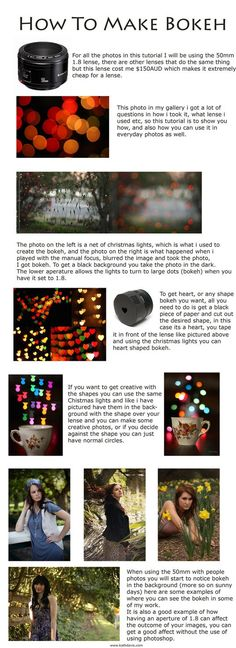 To all of my friends still working on their bokeh images! Here is a REALLY FUN tutorial on how you can make it happen.