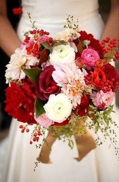 Resultado de imagen para red and white wedding