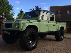1999 Land Rover Defender 130 TD5 Double Cab   eBay