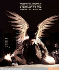 Supernatural quote Castiel