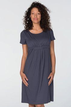Tmavomodrá mateřská noční košile nad kolena Cold Shoulder Dress, Dresses, Fashion, Vestidos, Moda, Fashion Styles, Dress, Fashion Illustrations, Gown