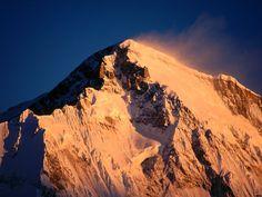 Cho Oyu Mountain, Khumbu Region, Nepal; Himalayas