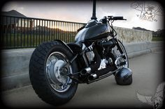 yamaha v-star 650 bobber | tail end customs