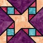 Stained Glass Garret Windows Quilt Block Pattern