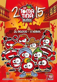 Cartel oficial de La Tomatina de Buñol 2015