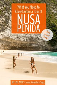 Just 45 minutes from Bali by fast boat, Nusa Penida is a spectacular place to experience beautiful beaches and stunning landscapes. If you're thinking about doing a Nusa Penida tour, this post covers everything you need to know before booking. China Travel, Bali Travel, Thailand Travel, Travel Nepal, Travel Couple, Family Travel, Travel Guides, Travel Tips, Gili Island