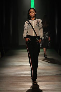 #AIFW #AW15 #AIFWAW15 #IndianFashion #NamrataJoshipura #Sultry #Black #Sequins #Floral #Sheer #Risque #Gowns #Techno #ThighHigh #Slits #Asymmetry #Texture