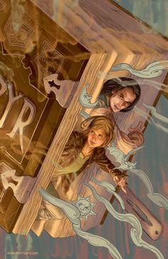 Buffy the Vampire Slayer cover, issue 3 season 10 by StevenJamesMorris on deviantART