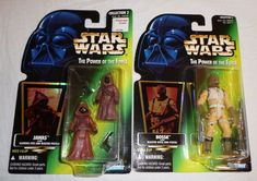 Star Wars Lot of 2 Action Figures - Jawas, Bossk with Accessories POTF Sealed