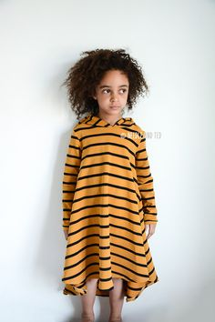 Groove Dress_mustard_stripes_7