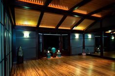 Private Yoga Studio - contemporary - home gym - omaha - by The Interior Design Firm