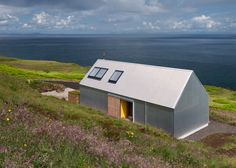 Rural Design has completed a holiday home on Scotland's Isle of Skye, featuring…
