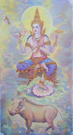 ตระการตา 'ฉากบังเพลิง ร.9' สุดยอด 'จิตรกรรม' แดนสยาม (ประมวลภาพ) Lord Hanuman Wallpapers, Buddha Art, Buddha Decor, Thailand Art, Scratchboard Art, Lord Krishna Images, Spiritus, Thai Art, Krishna Art