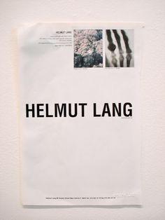 // Helmut Lang