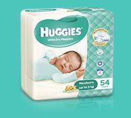Butt coverage Newborn nappies