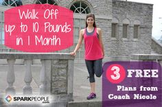 Need a solid walking plan for weight-loss? Try one of these three FREE programs!