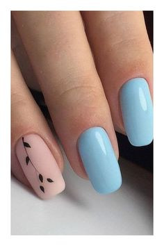Make an original manicure for Valentine's Day - My Nails Classy Nails, Stylish Nails, Simple Nails, Cute Nails, Pretty Nails, My Nails, Teen Nails, Girls Nails, Nail Art Designs Videos