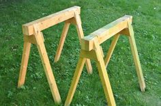 5 Simple Sawhorses You Can Build in Less Than an Hour  - PopularMechanics.com
