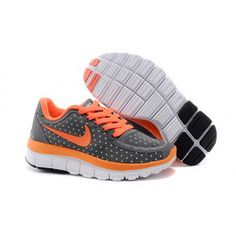 c5fe5923cdc0 Nike Free 5.0 Kids Shoes Gray Orange Cheap Nike Running Shoes