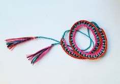 PLAN B a n n a · e v e r s DIY Can tab belt weaved