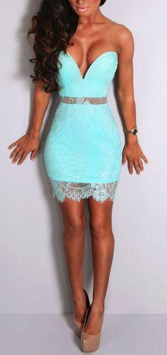 Pink Boutique Sia aqua lace #mini #dress http://www.pinkboutique.co.uk/new-in/sia-aqua-lace-mini-dress.html #pinkboutique
