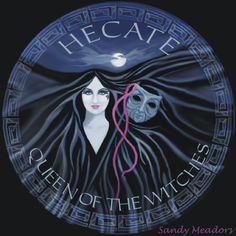 Hecate...Queen of the Witches, by Syrylyn