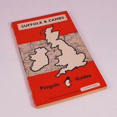 Vintage 1949 Penguin Guide to Suffolk and Cambridgeshire Paperback Book. $6.99, via Etsy.