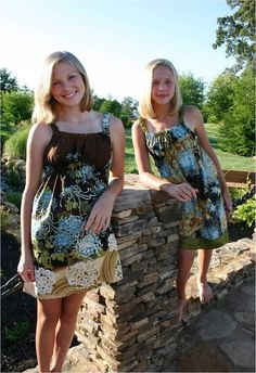 Foot Loose & Fancy Free - Sew Cool Empire Waist Dress or Top (Adult) - E-PATTERN