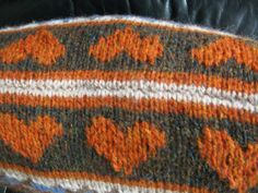 knitted cushion tutorial