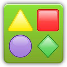 juego de reconocimiento de formas geometricas.