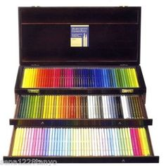 Holbein Artist Colored pencil  150colors in wood box SET♪ JAPAN OP946 wow WOW WOW
