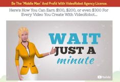 VideoRobot PRO Agency License Upgrade OTO Software Review - Best Developer OTO #2 of VideoRobot PRO Video Builder Software with Full PRO Features and Upgrade Agency Rights License to Add an Extra Income Stream with the Human Spokesperson Pack Quicker and Easier