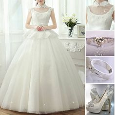 For every special and beautiful ladies, for you only ! #BridlaDress #BridalGown #Ring #Shoes #Fashion