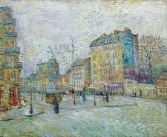 Boulevard de Clichy - Vincent van Gogh, 1887