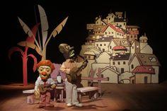 Os músicos e a favela