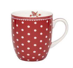 Mug with white dots « Bebe-Té, tienda on-line de té, infusiones, delicatessen, teteras, tazas y complementos en Barcelona