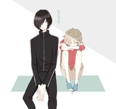 Prince of Stride - Yagami Tomoe & Riku by 自由帳 on pixiv