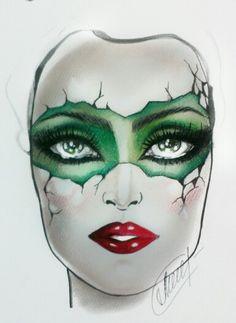 My facecharts (Sephora)